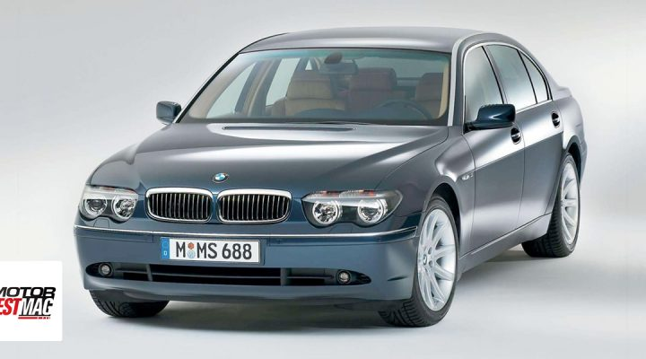 2002 BMW 754iA