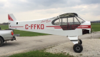 Project Super Cub: C-FFKO. Firewall forward detail