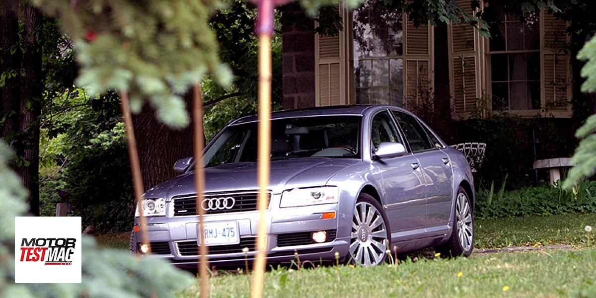 Audi A8 – Sexy, Sensuous and Dressed in Leather