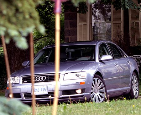 Audi A8 - Sexy, Sensuous and Dressed in Leather