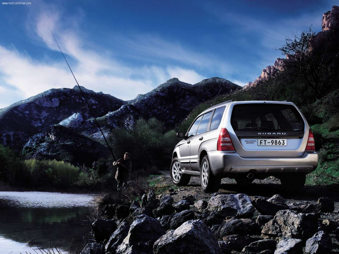 2003 Subaru Forester XS – Another Star From The Subaru Cluster