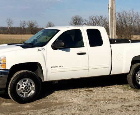 2014 Chevrolet Silverado 2500HD Bi-Fuel – Clean CNG