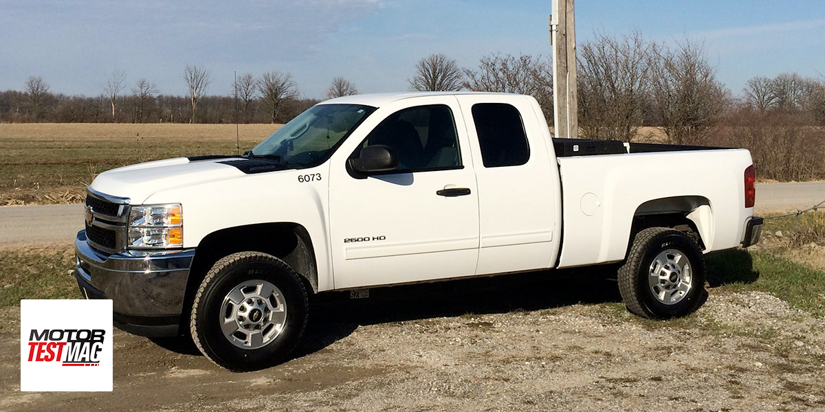 2014 Chevrolet Silverado 2500HD Bi-Fuel